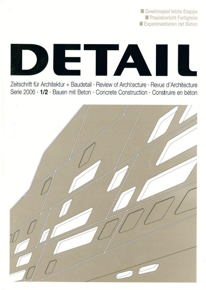 DETAIL Serie 2006/12: Bauen mit Beton
