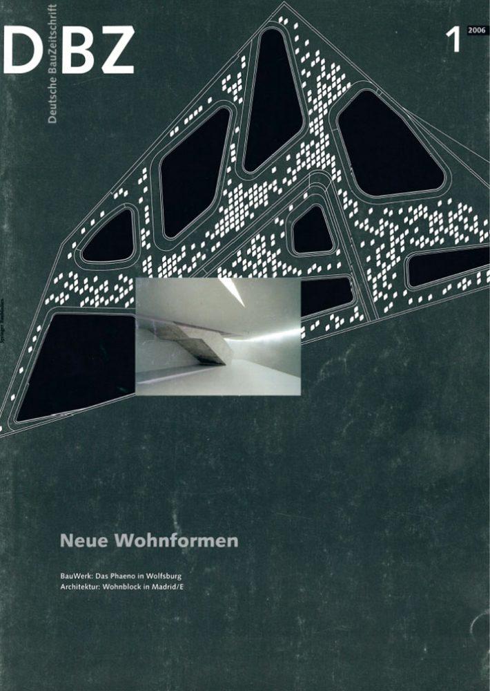 """Deutsche Bauzeitschrift """"Neue Wohnformen"""""""