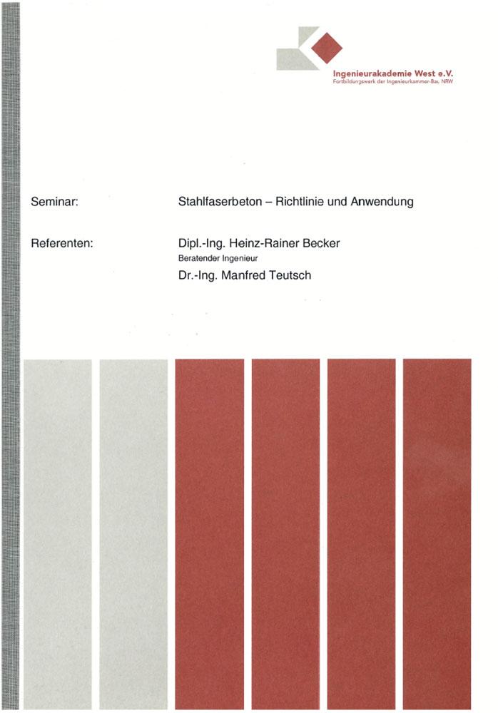 Stahlfaserbeton – Richtlinie und Anwendung
