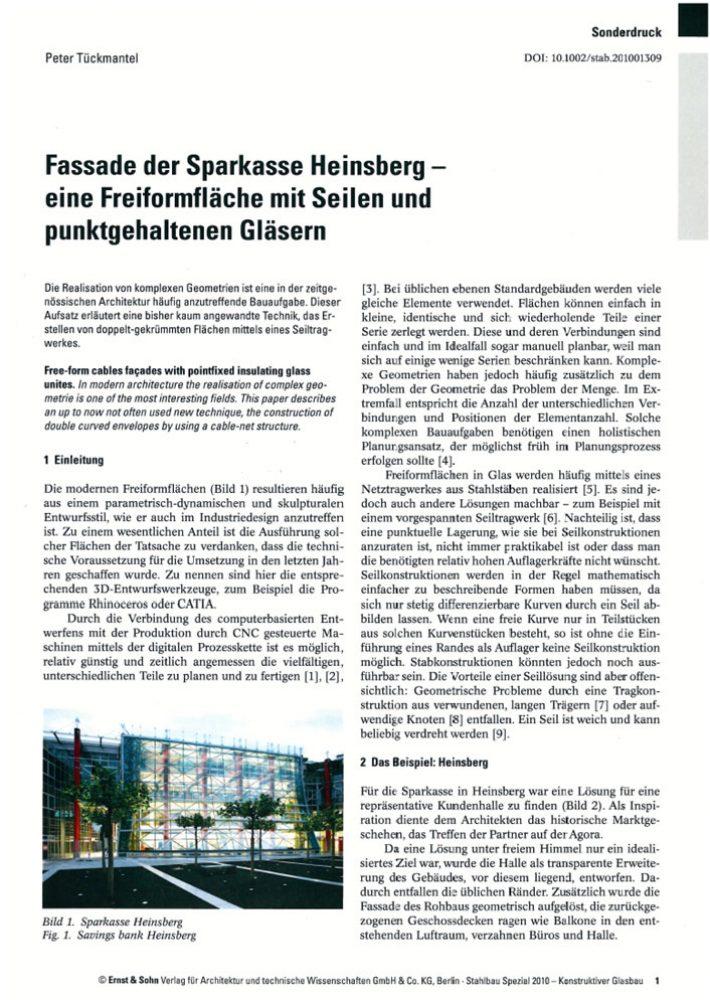 Fassade der Sparkasse Heinsberg