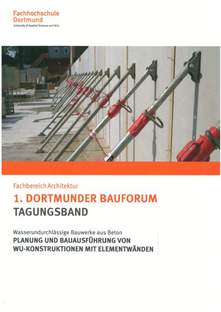 1. Dortmunder Bauforum